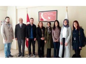 Erzurum Barosu'ndan Mehmetçik Vakfı'na ziyaret