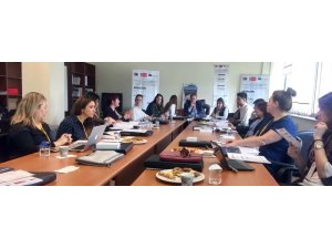 GAÜN'de Avrupa Birliği projesi açılış toplantısı yapıldı