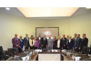 STK'lardan ATO Başkan Yardımcısı Deryal'e geçmiş olsun ziyareti