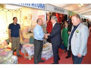 Başkan Vergili 'den çadır esnafına ziyaret