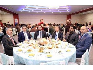 Aksaray Belediyesi yerel buluşmalar toplantısında emniyet teşkilatını ağırladı