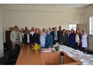 İlçe Sağlık Müdürlüğü çalışanları kadro sevincini kutladı
