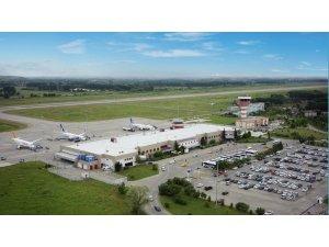 Samsun-Çarşamba Havalimanında yolcu sayısında rekor artış