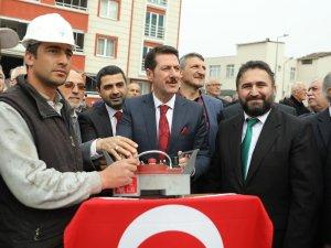 İlyasköy Camisi'nin temeli atıldı