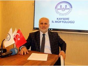 """İl Müftü Yardımcısı Tandoğan Topçu: """"Kandil gecelerini fırsat olarak değerlendirmeliyiz"""""""