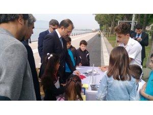 Köyceğiz'de öğrenciler akıl oyunları ile yarıştı