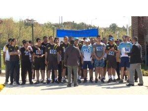 Elazığ'da postacılar yarıştı
