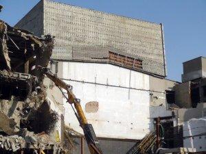 AKM yıkım çalışmalarında beyaz perde göründü