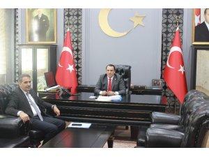 Başkan Erdoğan, Kaymakam Kaya ile bir araya geldi