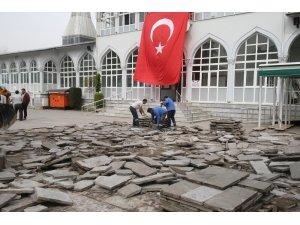 Gazi Süleymanpaşa Camii çevresi yenileniyor