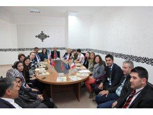 "Ahlat'ta ""Erasmus +k201"" projesi"