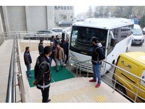 Zonguldak merkezli FETÖ/PDY operasyonunda 21 şüpheli adliyeye sevk edildi