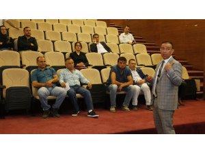 """Döşemealtı Belediye personeline """"Taşınır Mal Mevzuatı"""" eğitimi"""