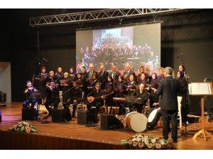 Sapanca'da Türk Halk Müziği konserine büyük ilgi