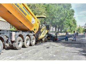 Yenigün'de cadde ve sokaklar yenileniyor