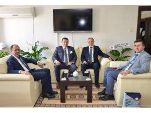 Başkan Bakıcı Bilecik'e yeni atanan il müdürlerini ziyaret etti
