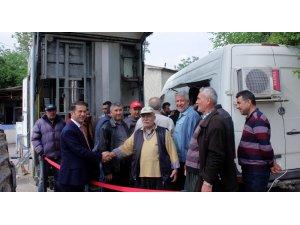 YZO Araç Muayene İstasyonu'nu çiftçilerin ayağına götürdü
