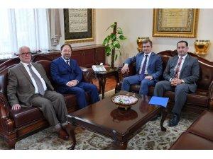 Başkan Yemenici, Diyanet İşleri Başkanını ziyaret etti
