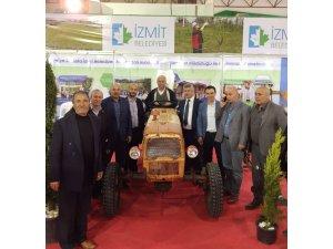 Tarım Fuarında İzmit belediyesi standına büyük ilgi