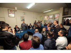 Başkan Yaşar, Demetevler sakinleriyle sohbet etti