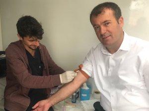 Akçakoca Belediye personeline sağlık taraması yapıldı