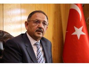 """Bakan Özhaseki: """"Haritaların yeniden çizildiği yerde Türkiye olarak biz de masadayız"""""""