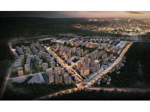 Antalya'ya yeni ve modern bir şehir kazandıracak proje hızla yükseliyor