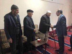 Başkan Vekili Epcim'den taziye ziyareti