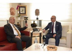 Vali Güvençer, Başkan Ergün'ü ziyaret etti