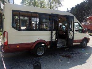 İstanbul Toptancılar Çarşısı'nda minibüse silahlı saldırı