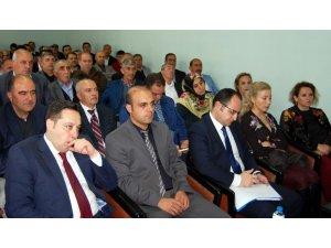 Ekonomi Bakanlığı bürokratları Bitlis esnafıyla bir araya geldi