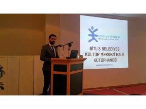Bitlis Belediyesi kütüphanecilikte Türkiye üçüncüsü oldu