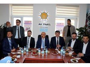 """Bakan Elvan: """"AK Parti'nin başarısı Türkiye'nin başarısı demektir"""""""
