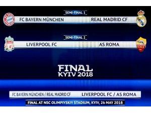 Şampiyonlar Ligi'nde dev eşleşme: Bayern Münih - Real Madrid