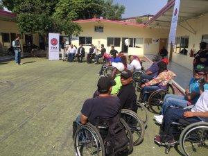 TİKA Meksika'da fiziksel engellilere destek oluyor