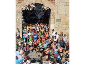 Tarihi kent koşusu heyecanı