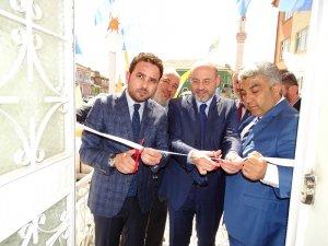 AK Parti Hisarcık İlçe Teşkilatı, yeni binasında