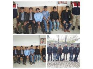 Van'da 36 yabancı uyruklu kaçak şahıs yakalandı