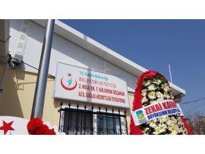 Dr. Fikriye Gülseren Özçakar 112 Acil İstasyonu açıldı