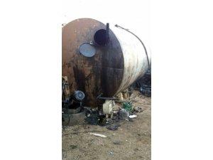 Gaziantep'te 35 bin litre kaçak akaryakıt yakalandı