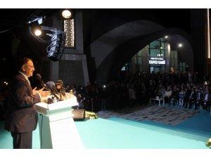 Kayseri'nin en farklı mimarisine sahip camisinin resmi açılışı yapıldı