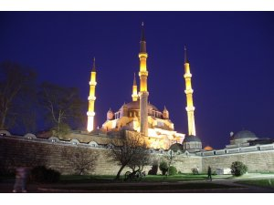 Edirne'de Miraç Kandili coşkusu