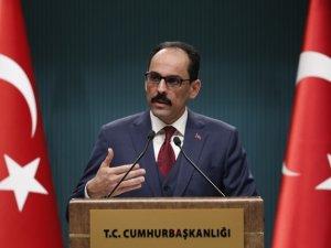 Kalın: Suriye rejiminin cevapsız bırakılması düşünülemezdi