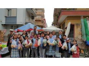 'Okulumla Sosyalleşiyorum' projesiyle hayat dersi