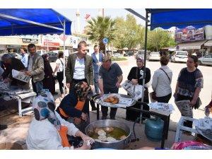 Çan Belediyesi geleneği Miraç Kandilinde de devam etti