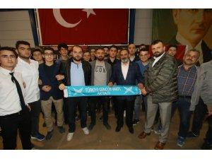 Akyazı Belediyesi miraç kandili özel programına yoğun ilgi