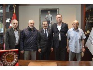 Hacı Zeynep Camii Derneği'nden Ataç'a ziyaret