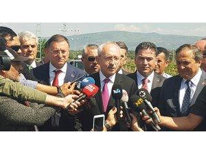Kılıçdaroğlu Suriye sınırında