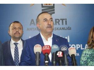 """Dışişleri Bakanı Çavuşoğlu: """"Harekat geç kalmış bir harekattır"""""""