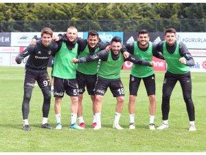 Beşiktaş, kupa mesaisine ara vermeden başladı